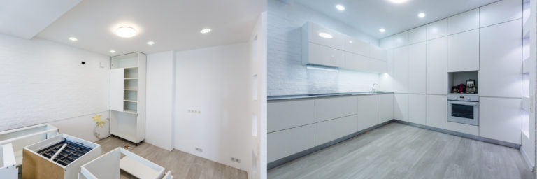 Comparison,Of,A,Room,In,An,Apartment,Before,And,After